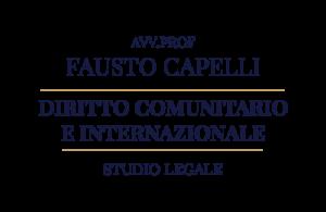 STUDIO LEGALE - AVVOCATO PROF. FAUSTO CAPELLI